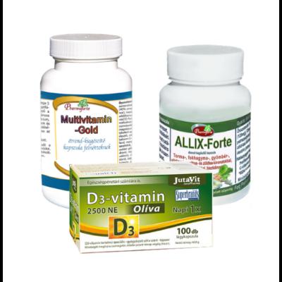 Immunerősítő vitamincsomag