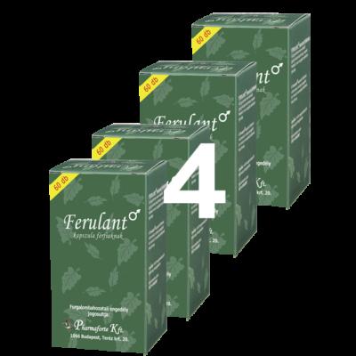 FERULANT férfiaknak - 4 doboz