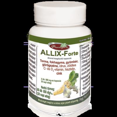 ALLIX-Forte  az allergia és a megfázás tüneteinek enyhítésére