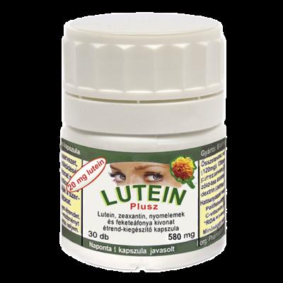 Lutein-Plusz szemvitamin 20 mg luteinnel