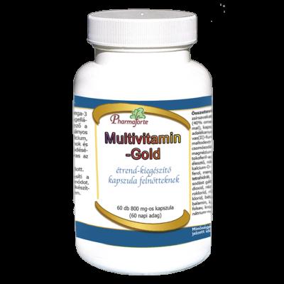 multivitamin gold felnőtteknek a szervezet erősítésére